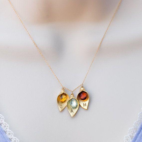 Custom Initial Jewelry Personalized Jewelry by DelezhenCharmed