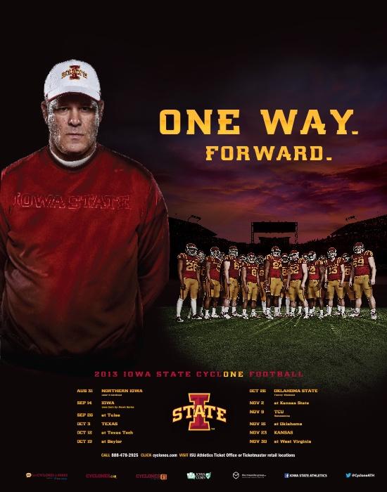 2013 Iowa State Football poster! #countdowntokickoff #cycloneFB #cycloneFBCountdown GAME THIS SATURDAY