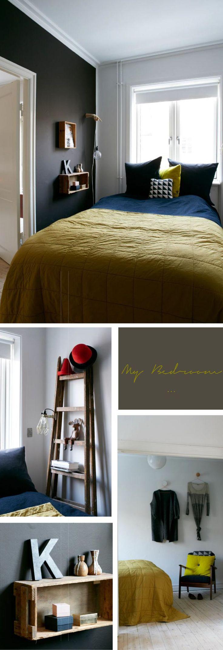 Tine Strange Blogger Bedroom soveværelse burn farve