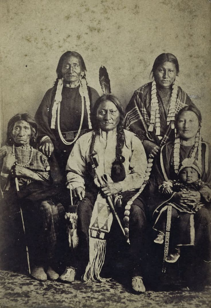 Sitting Bull and family.