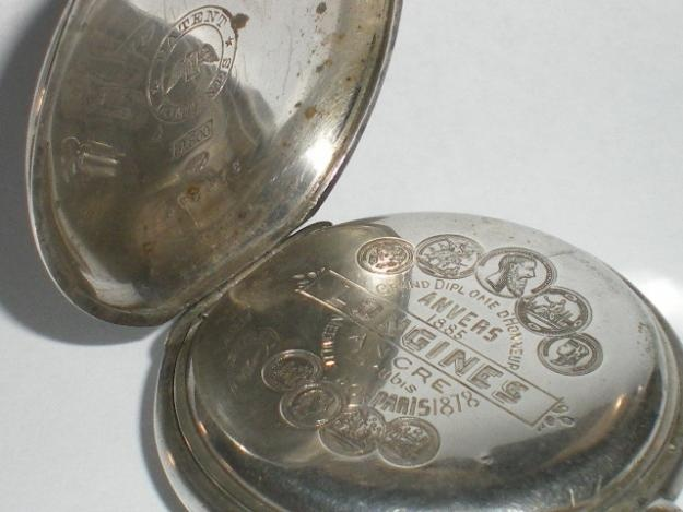 Reloj Antiguo De Bolsillo Longines 1888 Funcionando - Necochea - reloj ...