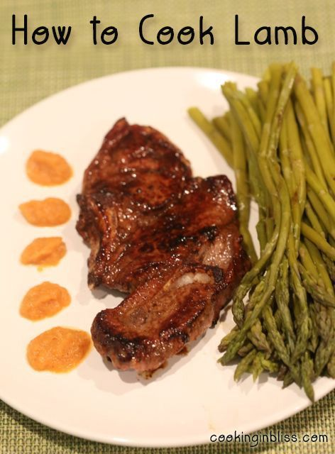 How to Cook Lamb Chops I never knew it was so easy and they could taste so good.