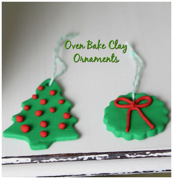 DIY Oven Bake Christmas Ornaments
