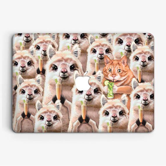 """Llama Cute Case Macbook MacBook 12 MacBook Air 11"""" MacBook Air 13"""" MacBook Pro 13"""" MacBook Pro 15"""" MacBookProRetina13"""" MacBookProRetina15"""""""