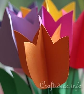 Paper Tulips 4
