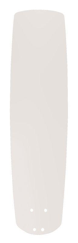 """Emerson B78 25"""" Solid Wood Hand Carved Fan Blade Satin White Ceiling Fan Accessories Fan Blades Fan Blades"""