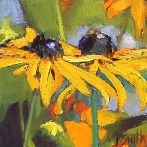 ❀ Blooming Brushwork ❀ - garden and still life flower paintings - Kim Smith