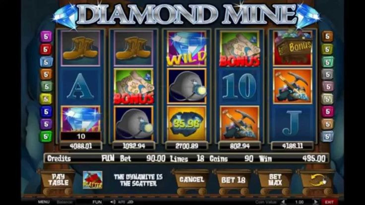 Diamond Mine Online Slots Video - Excellent Slots