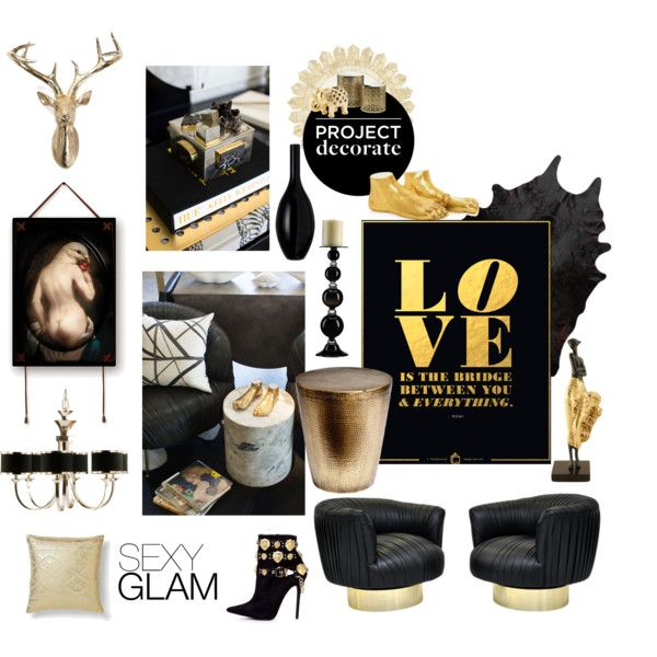 """Project Decorate: Sexy Glam"" by nionia on Polyvore"