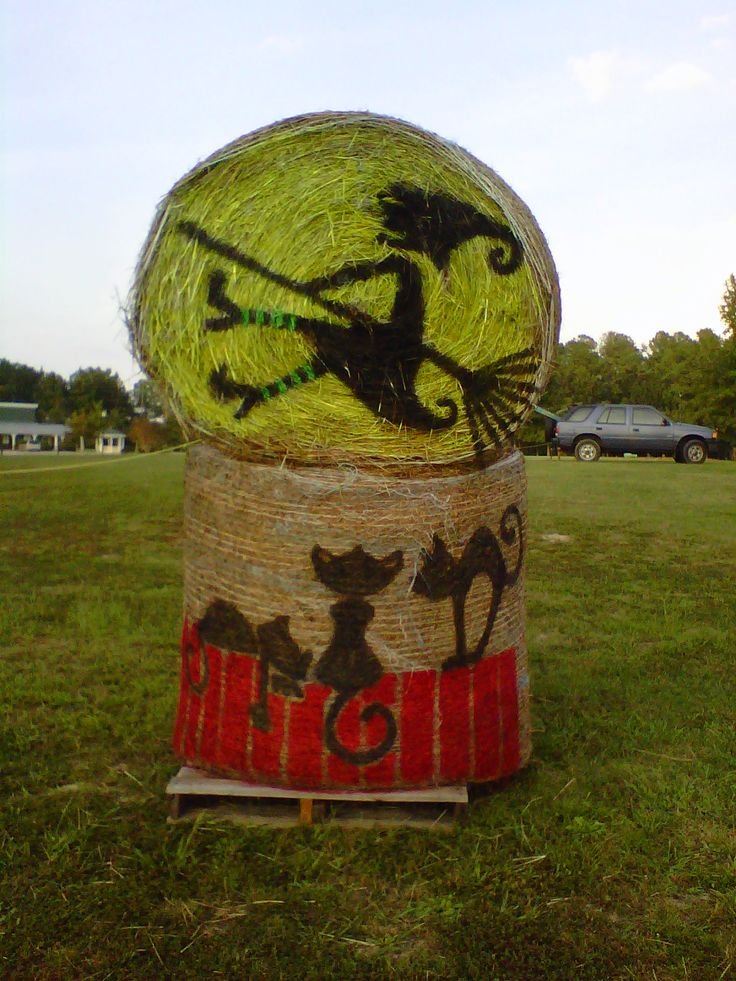 Hay Bale Halloween Decorations Cg08 Roccommunity