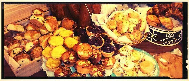 Cakes, bun, bread and scones :-D
