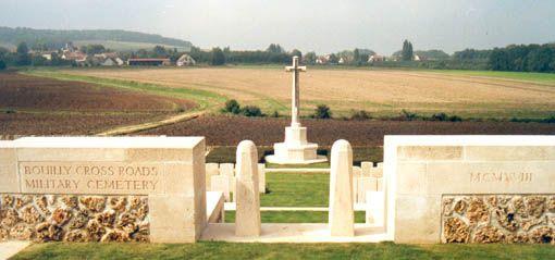 Le souvenir de la 1ère GM en Champagne-Ardenne - Le cimetière militaire britannique de Bouilly présenté par Jean-Pierre Husson