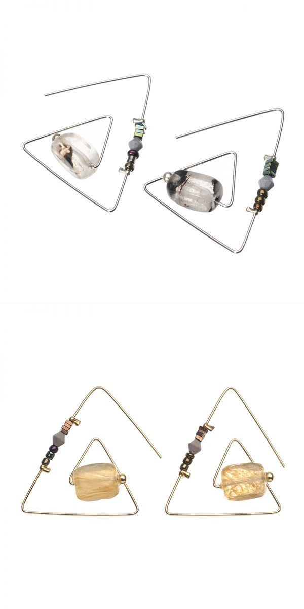 Earrings 9 gag retro geometric triangle natural crystal stone women earrings #$8 #earrings #pinterest #told #me #to #10g #earrings #earrings #j #c #penney #hamp;m #earrings #uk