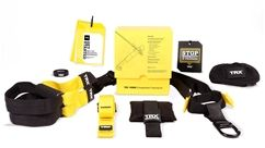 TRX HOME gives you everything you need to build a better body at home – or on the go. With a TRX HOME Suspension Trainer and anchor, a workout guide plus six bonus workouts — in 15 and 30-minute sessions — the TRX HOME Kit allows you to get the professional results you want – on your schedule. This is the original, portable bodyweight training tool developed by Navy SEAL Squadron Commander Randy Hetrick that people of all fitness levels are using.