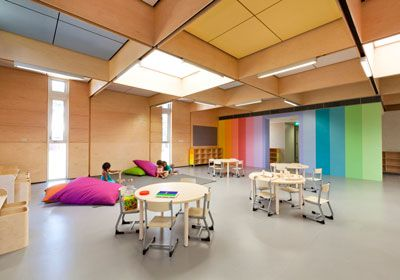 Brooking design architects jsracs kindergarten for Interior design articles