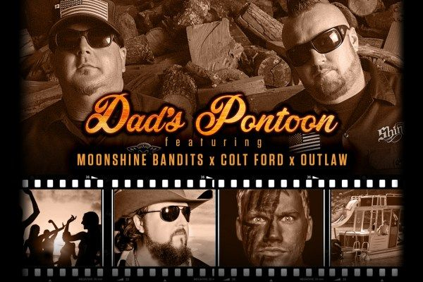 Hear Moonshine Bandits' New Song 'Dad's Pontoon' Feat. Colt Ford + Outlaw [Exclusive Premiere]