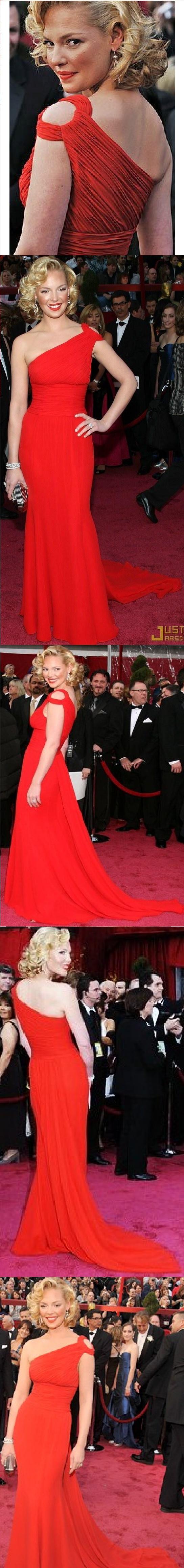 Vestido Vermelho - oscar 2008