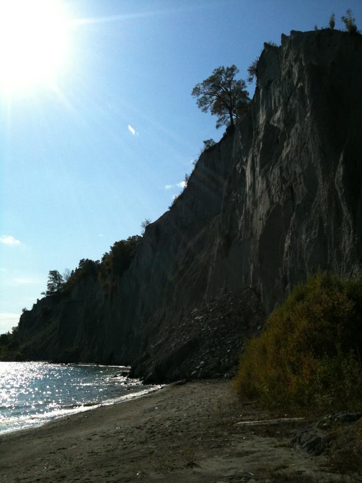 Lake Ontario, Scarborough Bluffs