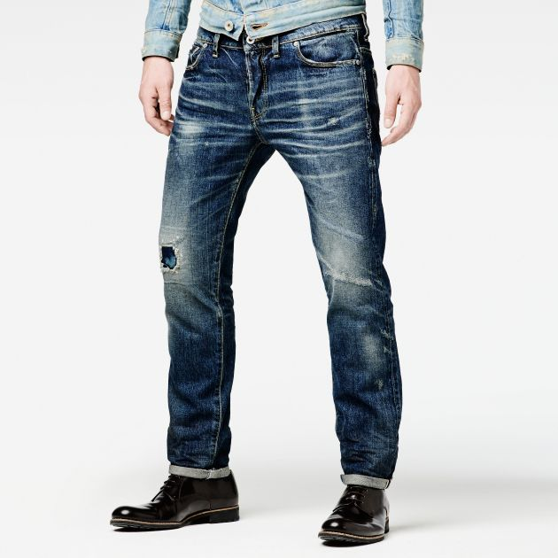 3301 RAW ESSENTIALS LOW TAPERED