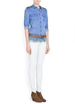 MANGO - CLOTHING - Jeans - Super slim-fit Dye jeans
