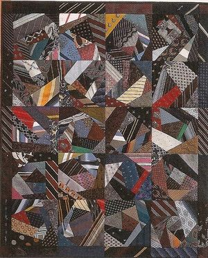 mens tie quilts | Free Stuff: Ties that Bind Quilt 4 in 1 Pattern - Uses Men's Old Neck ...