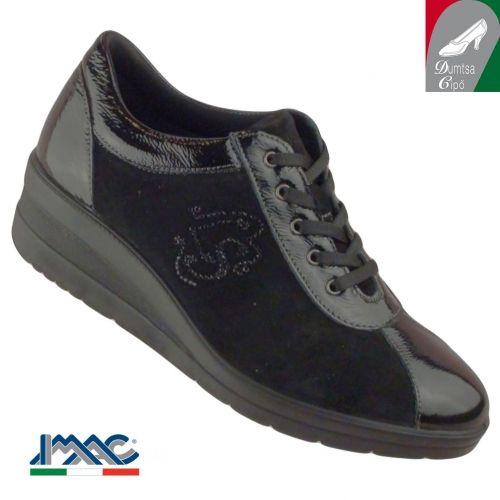 Imac női bőr cipő 42640 4200 011 fekete