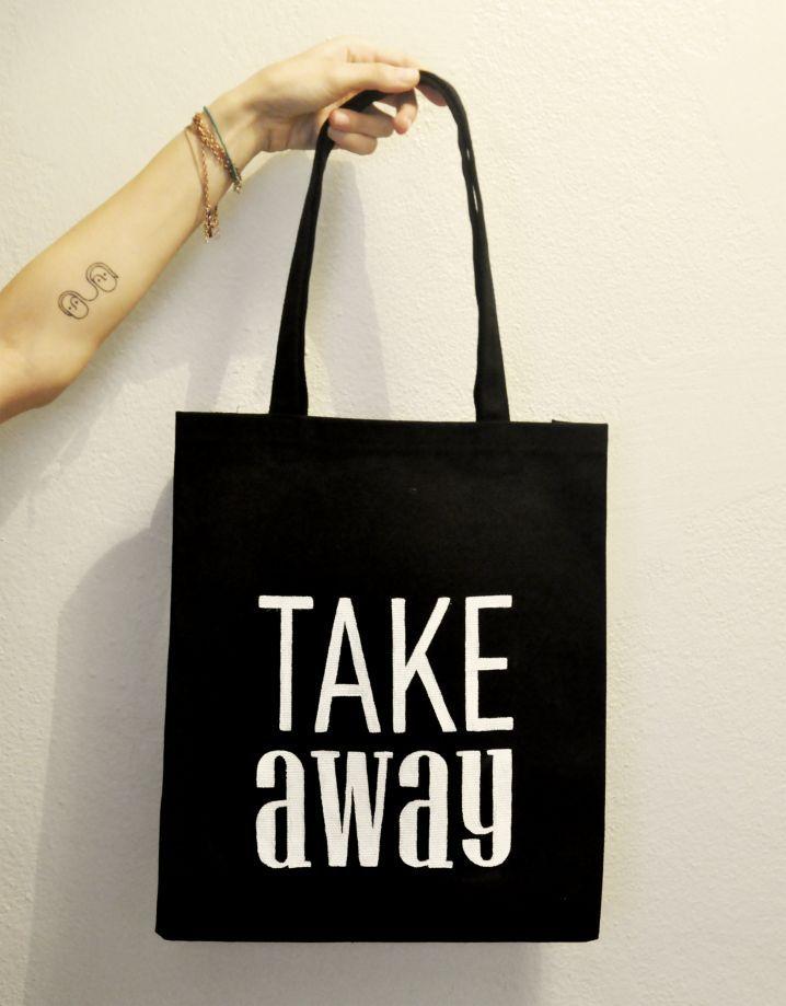 Take Away / El Yapımı Bez Çanta Zet.com'da 70 TL