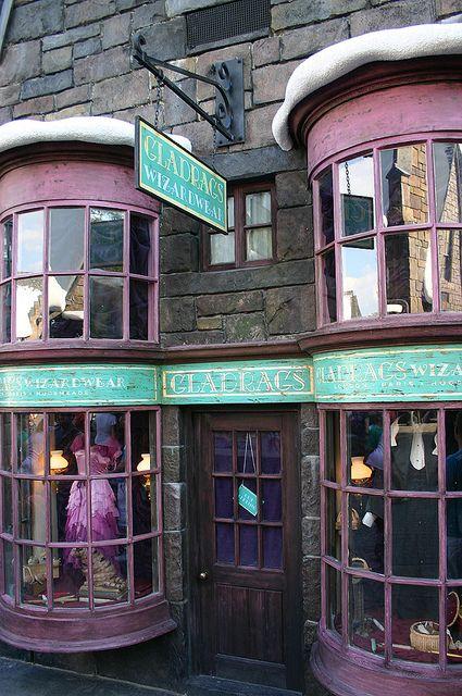 Gladrags Shop, Hogsmeade - Islands of Adventure - Orlando, Florida by Andrew_Simpson, via Flickr