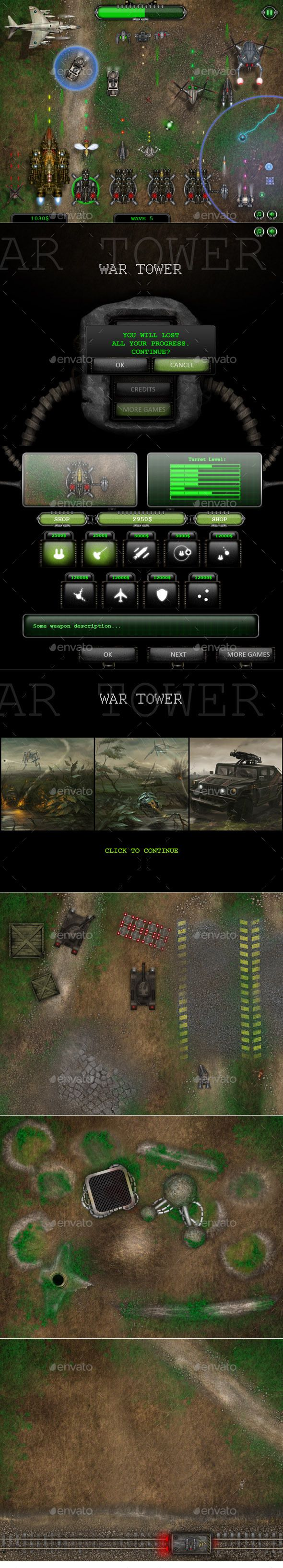 Top Down View Shooter Game Kit - Game Kits Game Assets