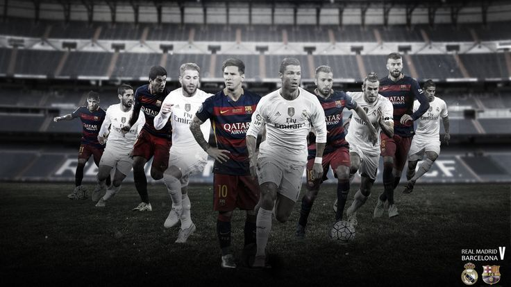El Clasico 2015/2016 Wallpaper by RakaGFX on DeviantArt