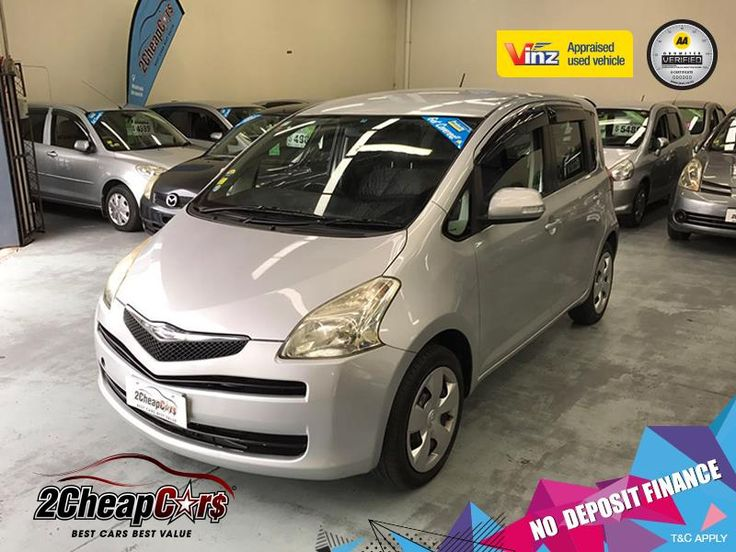 Toyota Ractis 2005 for Sale – Silver | 2 Cheap Cars — NZ