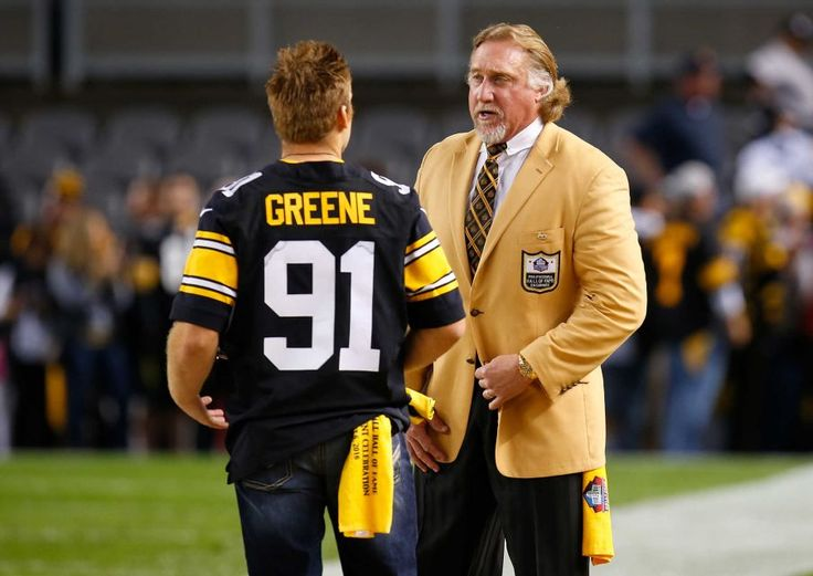 STEELERS 43  -  CHIEFS 14  -     NFL Hall of Famer Kevin Greene stands on the sidelines before the game between the Pittsburgh Steelers and the Kansas City Chiefs at Heinz Field on Oct. 2, 2016 in Pittsburgh.