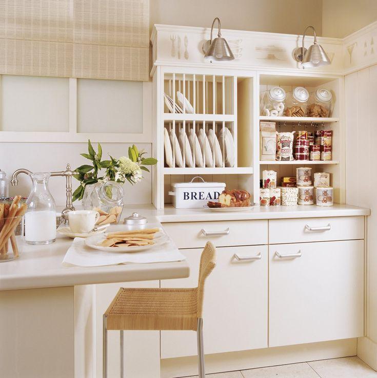 Die besten 25+ Cream kitchen cupboards Ideen auf Pinterest Diner