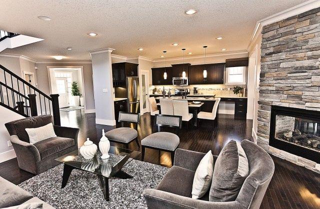 arredo soggiorno rustico/moderno - Cerca con Google | Casas ...