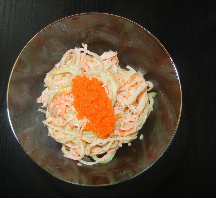 Foodilicious: Spicy Kani Salad