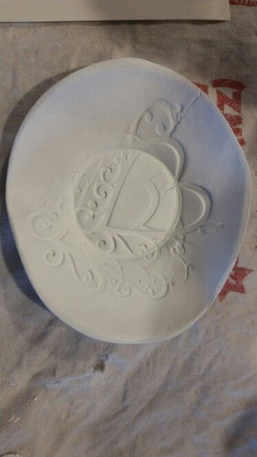 paperclay small bowl...test item.