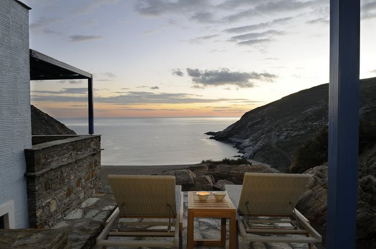 Aegea Blue Cycladic Resort- View from the Grand Blue Villa