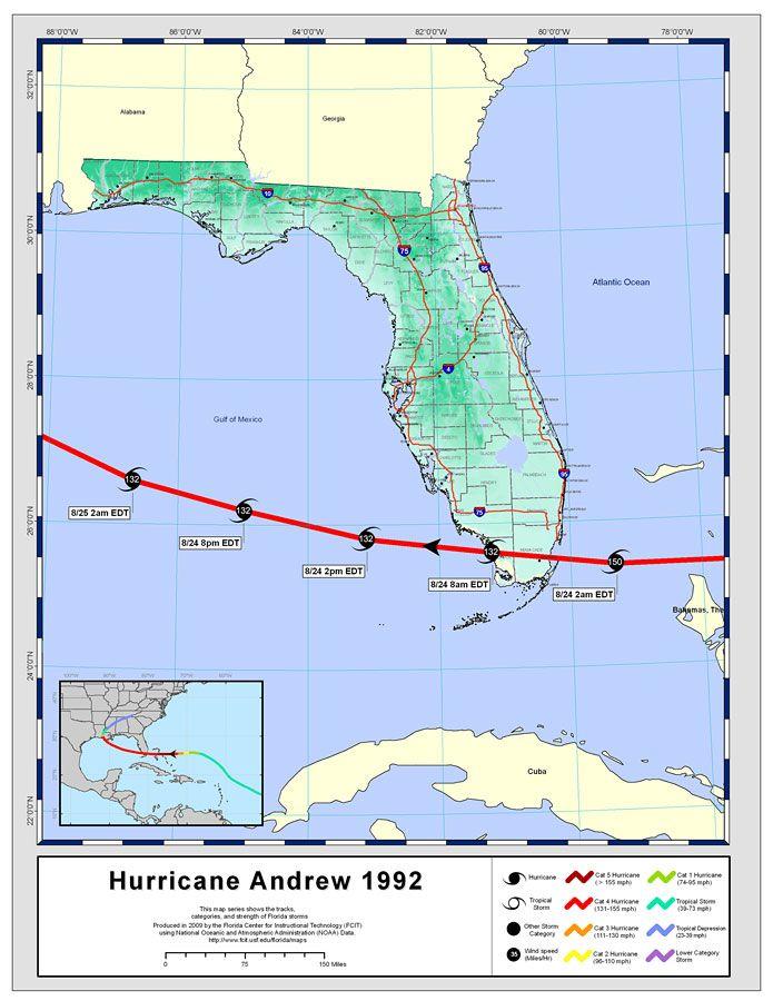 Storm Track: Hurricane Andrew, 1992