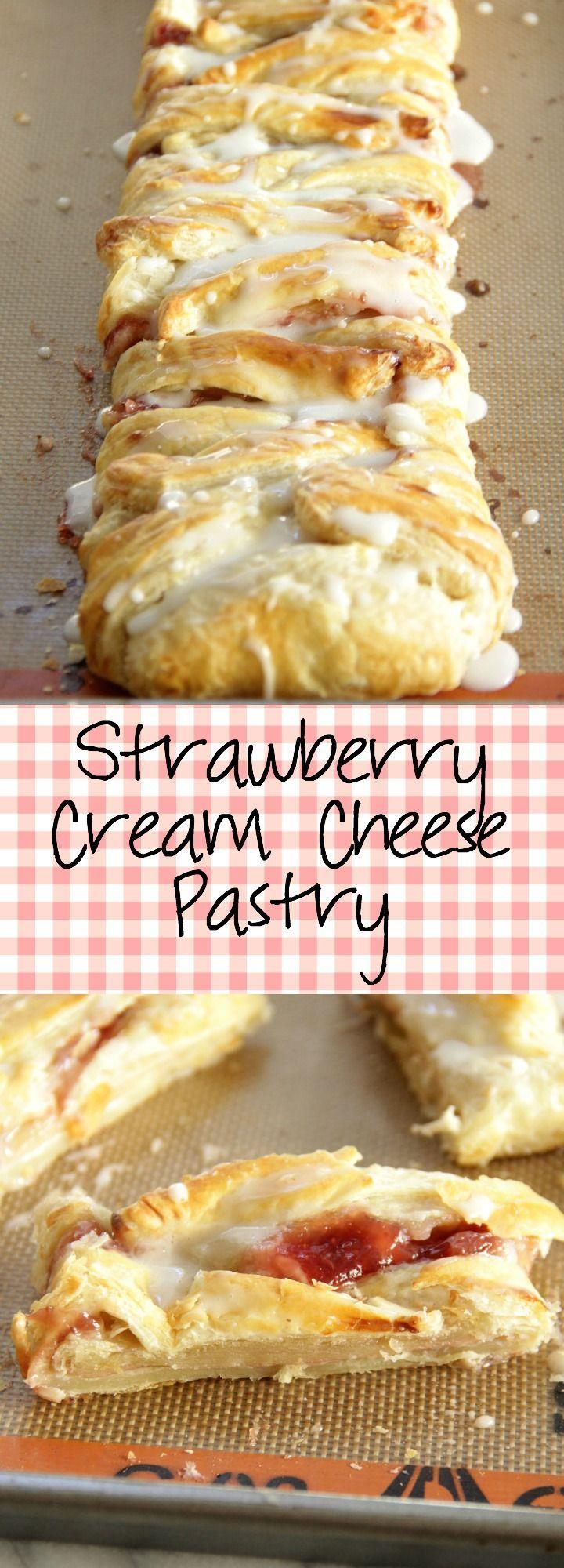 Strawberry Cream Cheese Pastry