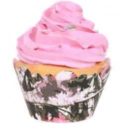 Pink Camo Cupcake Wrappers (12)