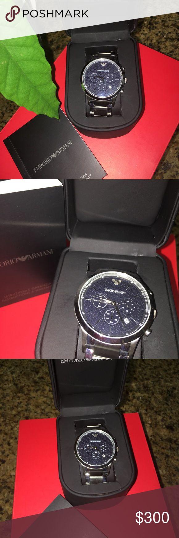 EMPORIO ARMANI WATCH Brand new with box Emporio Armani men watch . Emporio Armani Accessories Watches