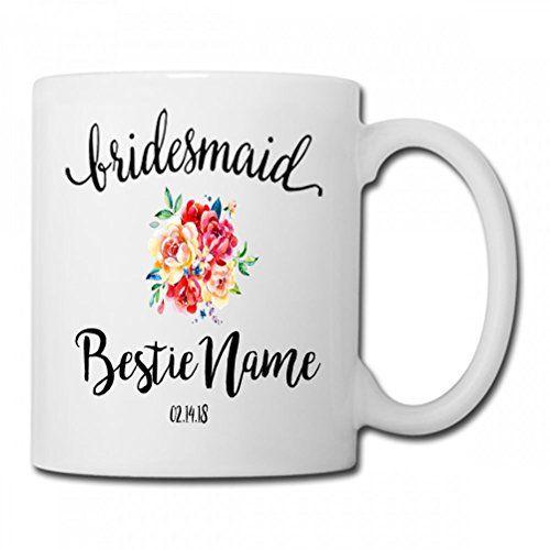 Bridesmaid Bridesmaid Coffee Mug,Maid of Honor Gift,Will ...