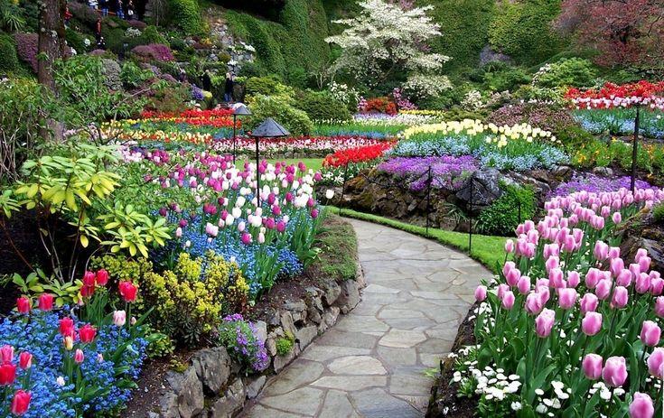 Сады Будхарт, Британская Колумбия, Канада - Путешествуем вместе
