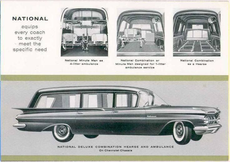 1959 Chevrolet Combination Hearse Ambulance By National Body