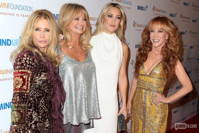 Goldie Hawn, Kate Hudson, Kathy Griffin, rosanna arquette