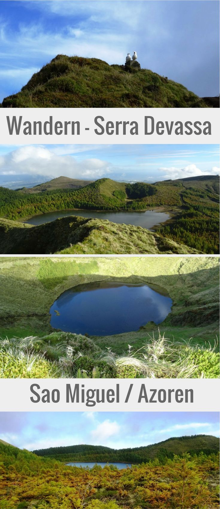 Traumhafte Wanderung zu den versteckten Seen der Serra Devassa auf der Azoreninsel Sao Miguel. #SaoMiguel #wandern # azoren #serradevassa