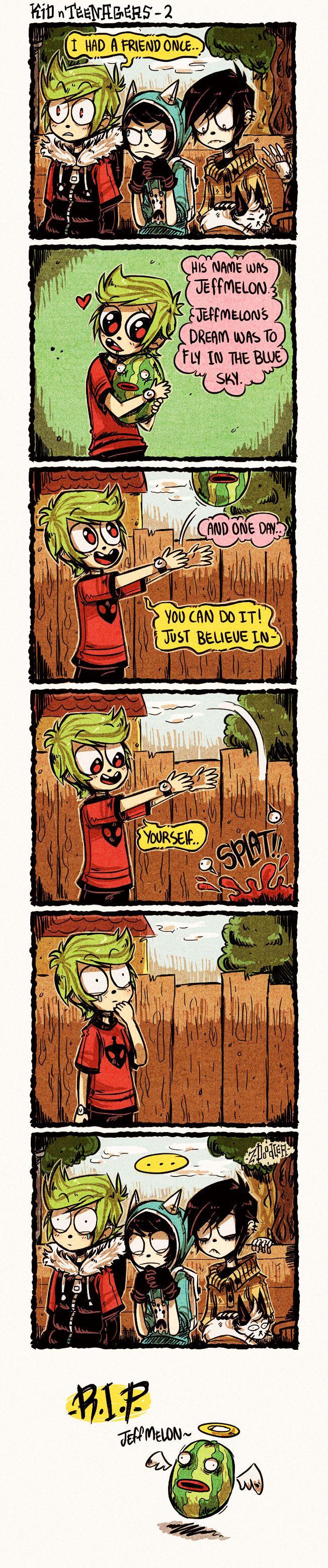 +KnT - Ted's Tragic Story+ by Z-Doodler.deviantart.com on @DeviantArt