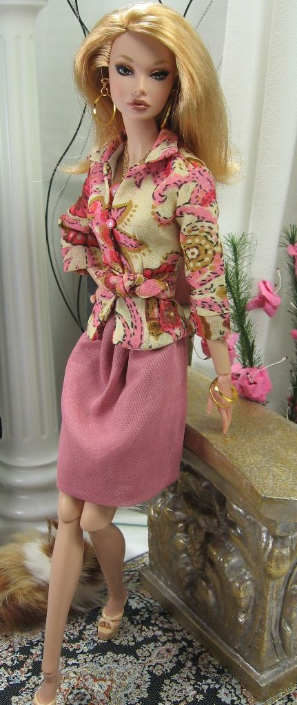 Poppy Dolls Clothing | Pretty Spicy for Poppy Parker and Silkstone Barbie on Etsy now ...