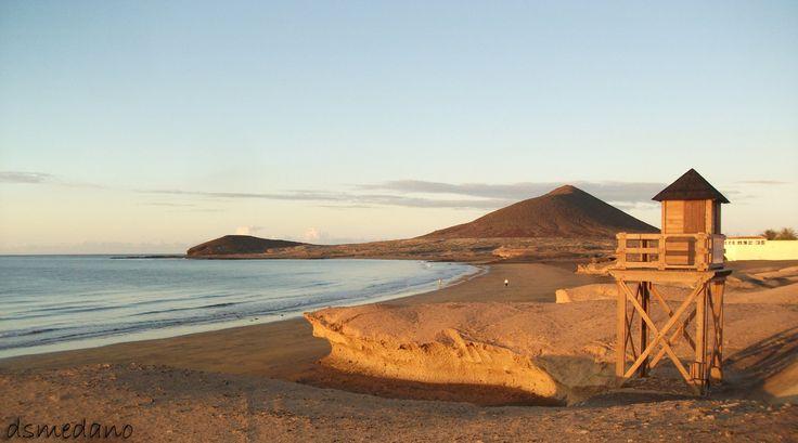 Playa de El Médano. Tenerife Sur. Islas Canarias.