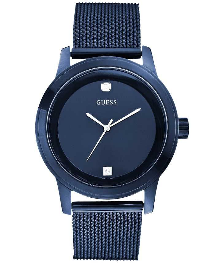 Guess Chain Watch - Men's Watches in Blue | Buckle